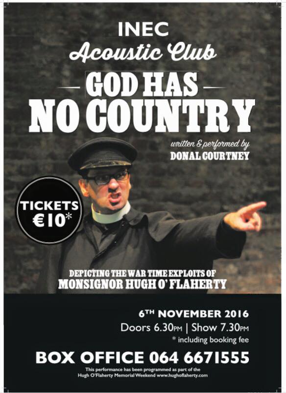 Donie Courtney performs a one man show